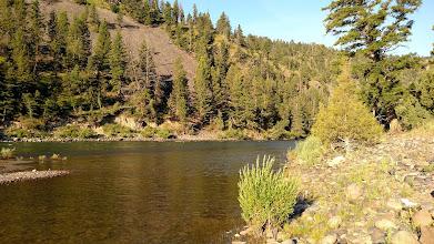 Photo: Yellowstone river