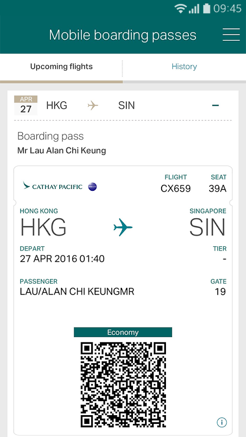 cathay pacific how to change flight online