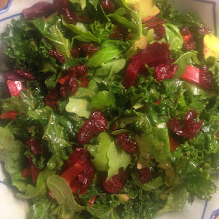 Jewelled Kale salad