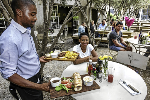 The December wind-down in Joburg gives room for long, lazy, peaceful lunches.