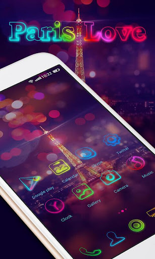 Paris Love GO Launcher Theme