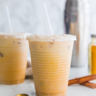 Iced Golden Milk Turmeric Latte (Paleo, Vegan, Anti-Inflammatory) Recipe
