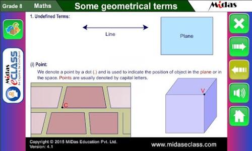 MiDas eCLASS Maths 8 Demo screenshot 2