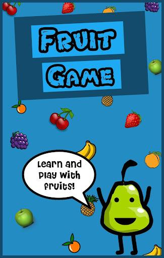 Free Fruit Game for Kids
