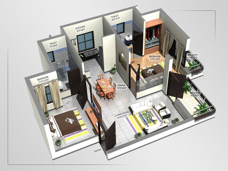 3d home designs layouts screenshot