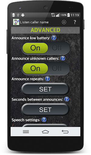 Say caller name  screenshots 9