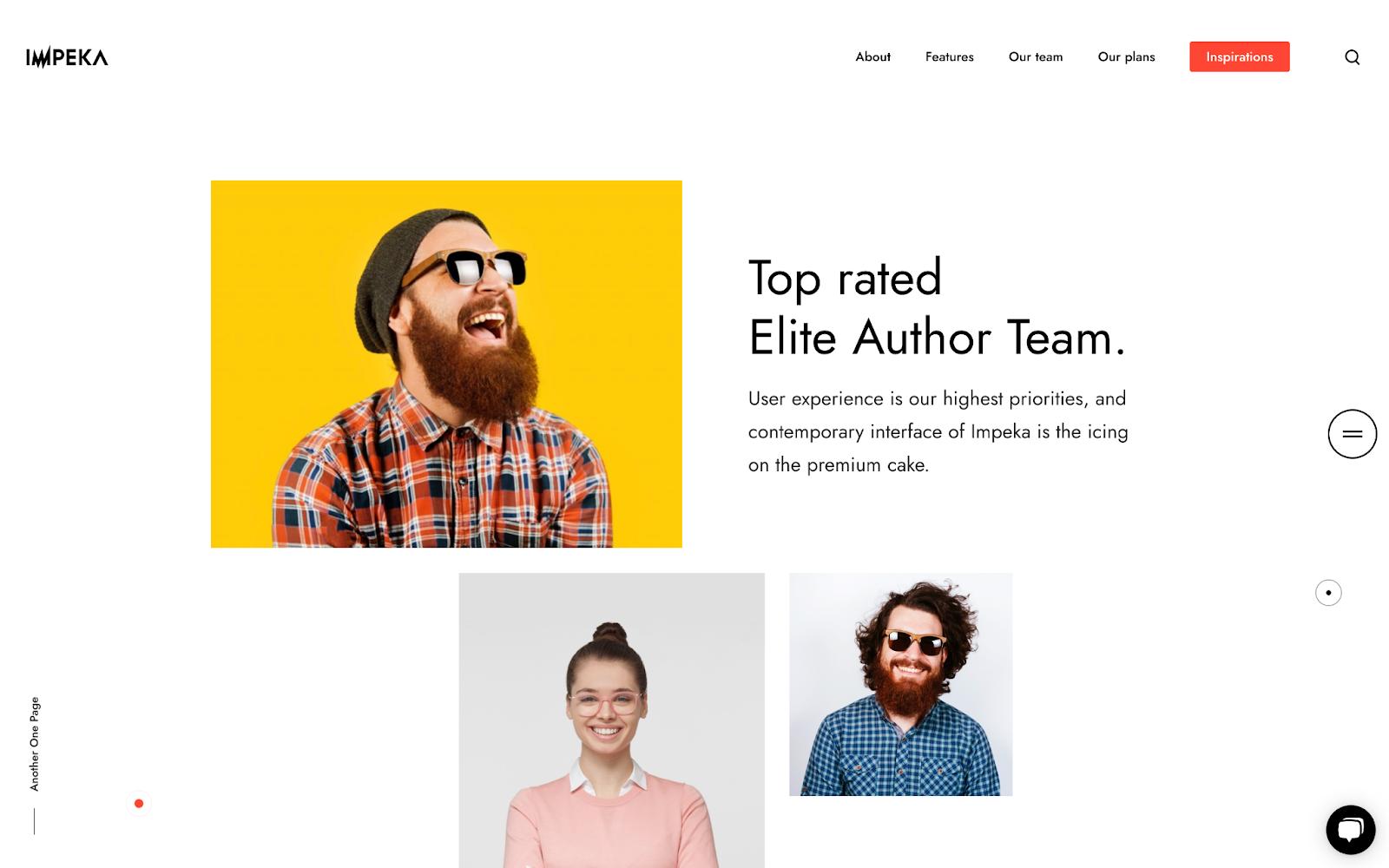 Impeka WordPress theme