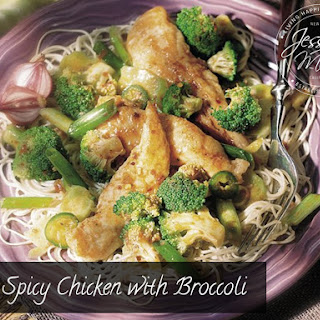 Spicy Chicken with Broccoli.