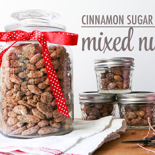 Cinnamon Sugar Mixed Nuts