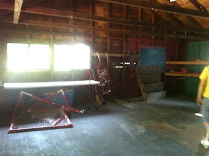 """Photo: Top floor of the """"Store."""" Fall back location for Monster Camp, but otherwise will be Mod Space."""