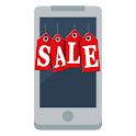 "FLAT LG Home Theme ""SALE"" icon"