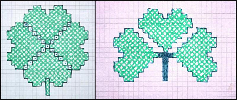 clover & shamrock patterns