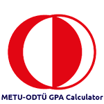 METU-ODTÜ GPA Calculator icon