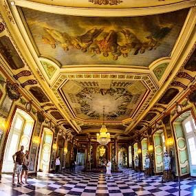 PALACIO DE QUELUZ by Gjunior Photographer - Buildings & Architecture Other Interior ( interior, historical, architecture )