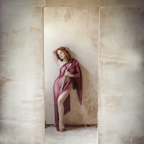 Beauty in natural Light by Shaun HODGE - People Fine Art ( natural light, ivory, redhead, beauty )