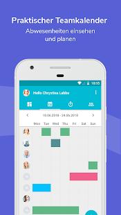 Mobile Personalverwaltung Screenshot