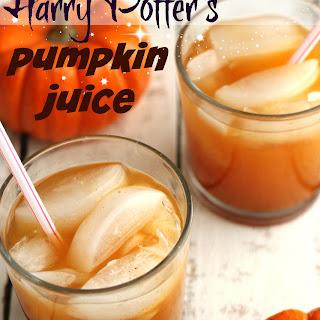 Our Version of Harry Potter's Pumpkin Juice