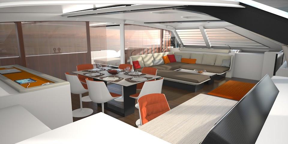 Liberty 82 catamaran
