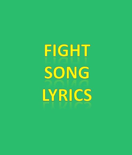 Fight Song Lyrics