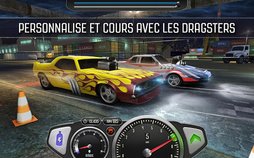 Top Speed: Drag & Fast Racing 3D  captures d'écran 1