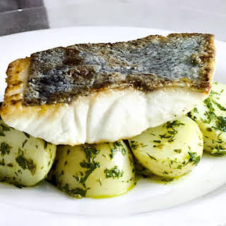 Pan Fried Fish with Dill Potatoes.