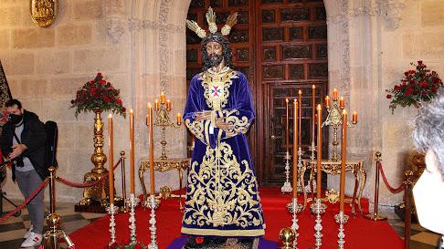 El Señor Cautivo de Medinaceli en su tradicional Veneración.