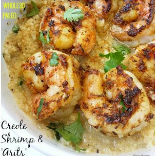 Creole Shrimp and 'Grits' (Whole30, Paleo) Recipe