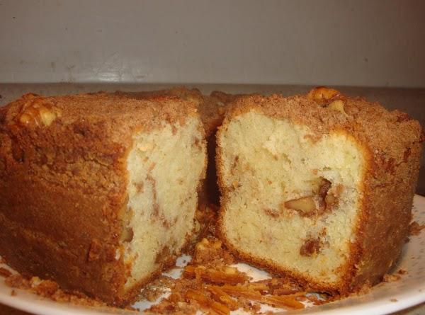 Moist Coffee Cake. Best Recipe Yet!