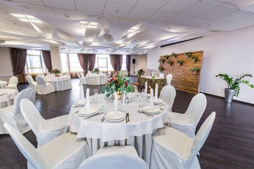 Банкетный зал в ресторане SkyPoint для свадьбы 2