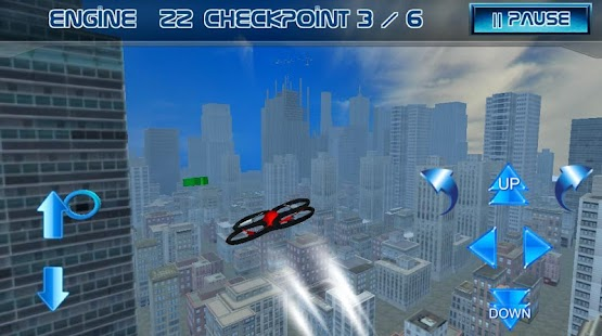 Kleine Drohnen - City Flight Screenshot