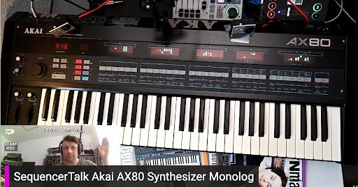 SequencerTalk – Akai AX80 Synthesizer Monolog – Erklärung, Technik, Fragen, Jam