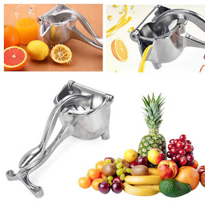 Storcator manual de citrice, presa manuala din aluminiu