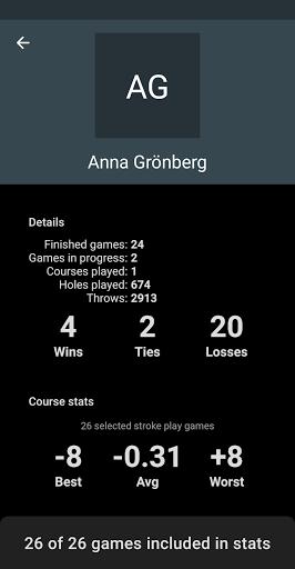 Code Triche DiscGolf apk mod screenshots 5