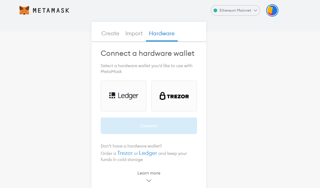 how to use ledger plus metamask