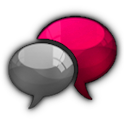 GO SMS Pro Cotton Candy Cobalt icon
