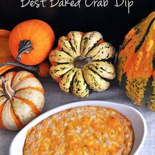 Best Baked Crab Dip