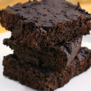 Vegan Black Bean Brownies.