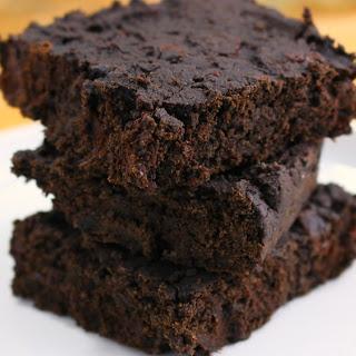 Vegan Black Bean Brownies.