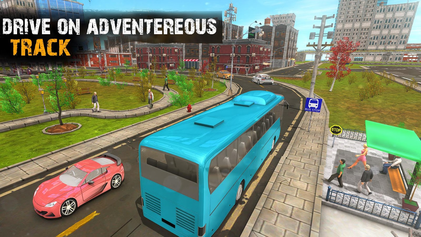 Tour Bus Coach Driver 2017- screenshot