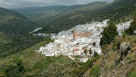 El pueblo de Ohanes, enclavado en la Alpujarra almeriense.
