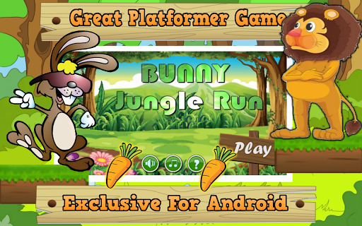 Bunny Jungle Run