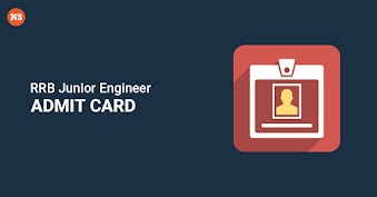 RRB Junior Engineer Admit card