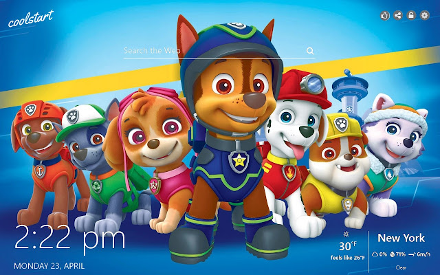 Paw Patrol HD Wallpapers Mighty Pups Theme