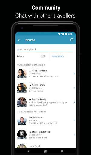 App in the Air - Travel planner & Flight tracker 4.0.9 screenshots 2