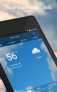 App Weather by WeatherBug: Real Time Forecast & Alerts APK for Windows Phone