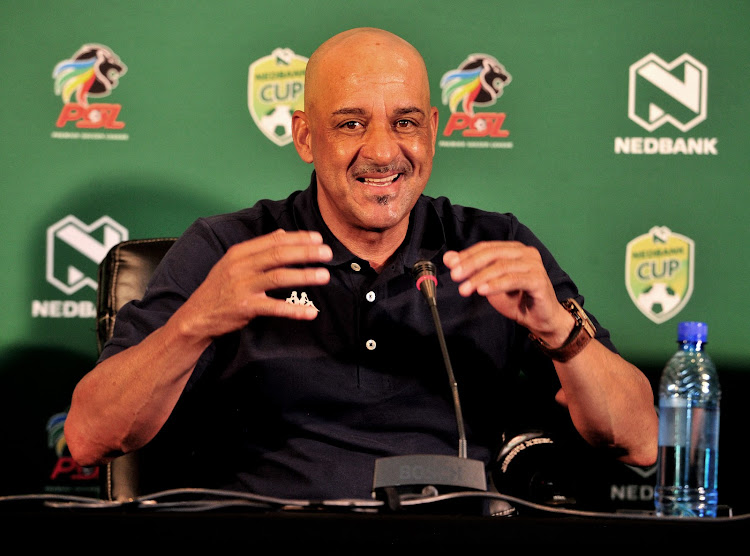 Highlands Park head coach Owen Da Gama is increasingly becoming a lot more outspoken with each passing game.