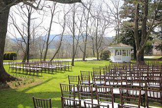 Photo: Wedding on The Oaklawn at The Dillard House