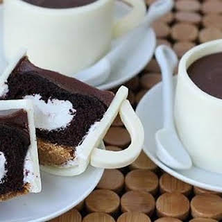 S'mores Coffee Cup Cupcakes.