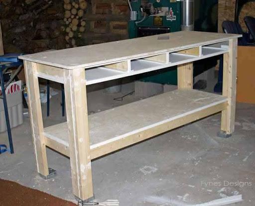 DIY Craft Desk Design Ideas