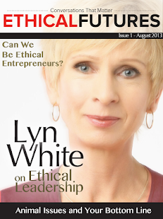 Ethical Futures Magazine- screenshot thumbnail